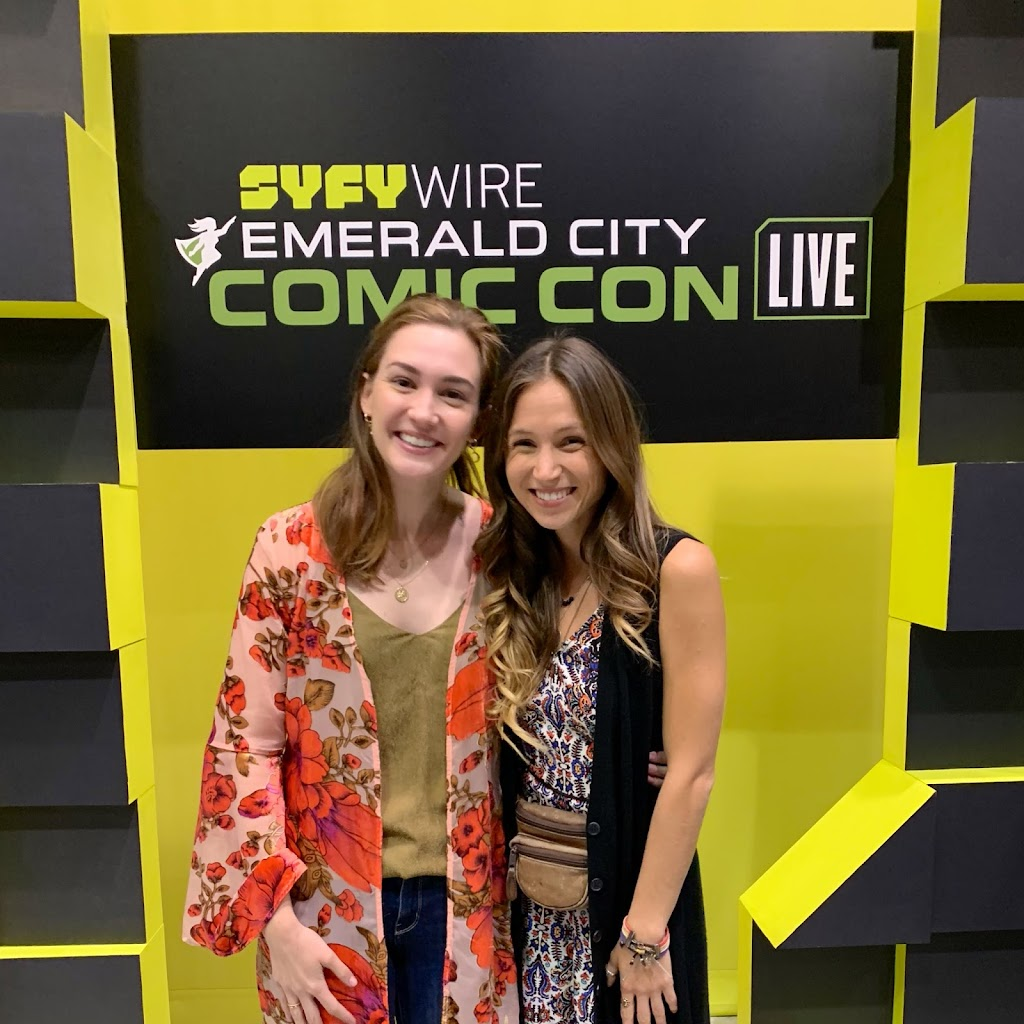 Wayhaught Panel : Emerald City Comic Con 2019 #ECCC2019 #wayhaught